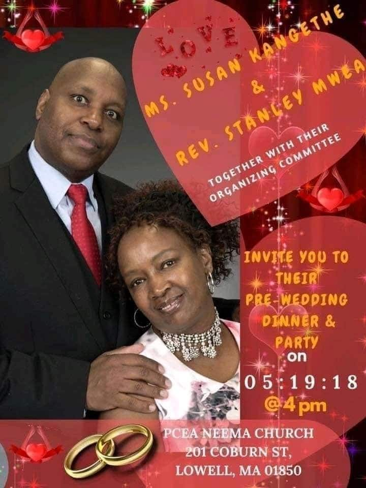 US based Kenyan pastor holds three pre-weddings with two different women