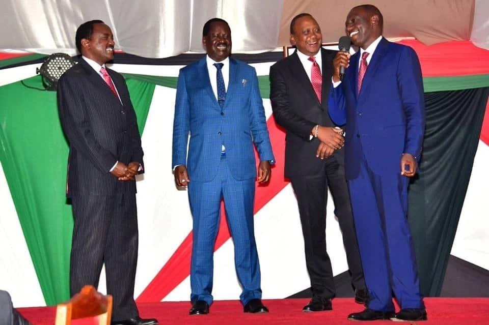 Uhuru compels Ruto to reconcile with Kalonzo Musyoka