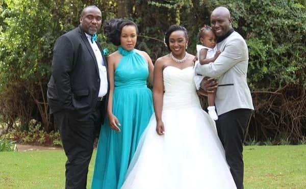 Husband to Betty Kyalo