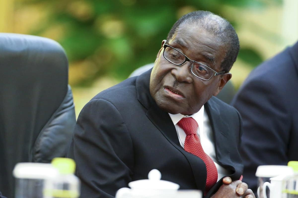 Suitcase containing KSh 15.3 million hard cash stole from ex Zimbabwe President Robert Mugabe's home