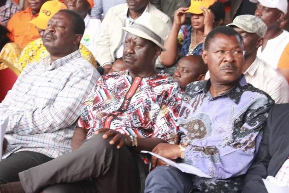 Raila abandons ODM candidate in parliamentary election in Kisii