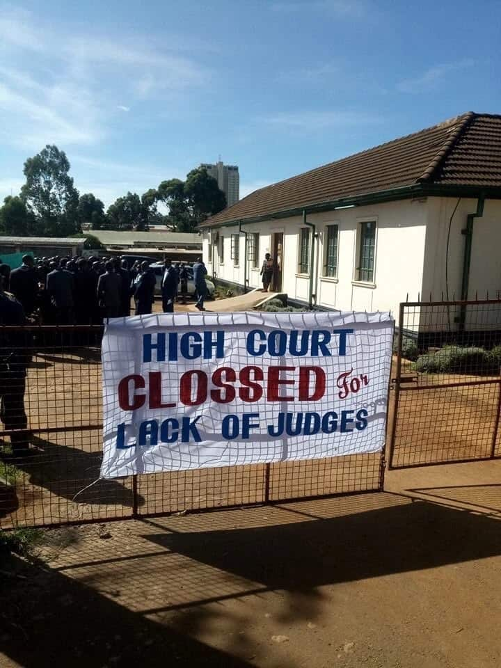 Lawyers protest lack of judges in Eldoret courts
