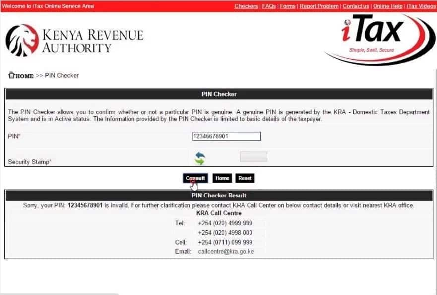 KRA PIN Certificate Retrieval Guide