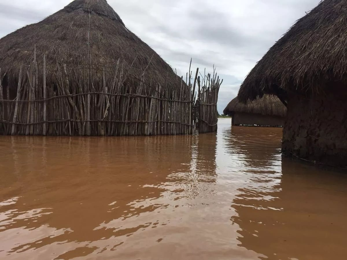 Even if water levels reach mountain top we will not abandon our lands - Tana River flood victims