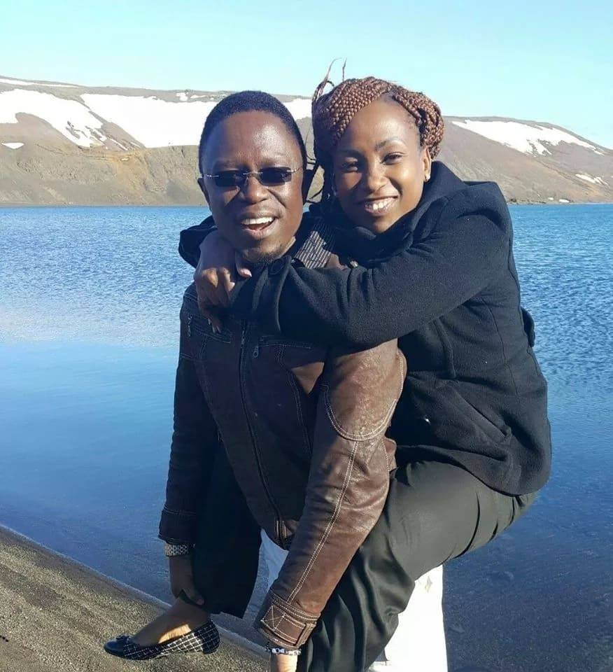 Ababu Namwamba's wife bounces back with love message to hubby amid break-up rumours