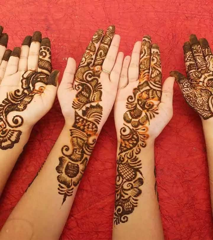 Arabic Henna Designs: Beautiful Mehndi Designs Arabic 2018 Tuko.co.ke