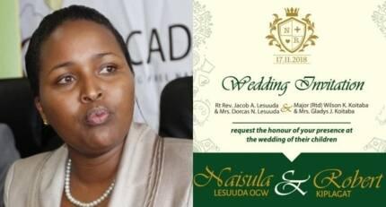 MP Naisula Lesuuda to wed fiance in November 2018 in lavish Samburu invite only wedding