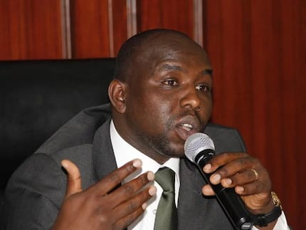 Gideon Moi has made it very difficult to see his father Daniel Moi - Kipchumba Murkomen