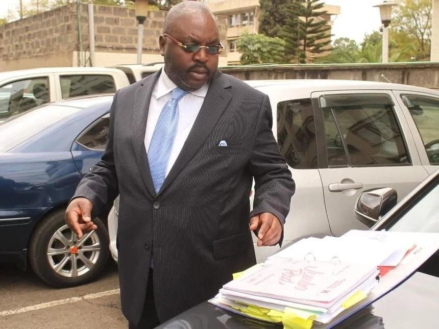 Prominent debt collector Brian Yongo arrested for using fake logbook to get KSh 4 million loan