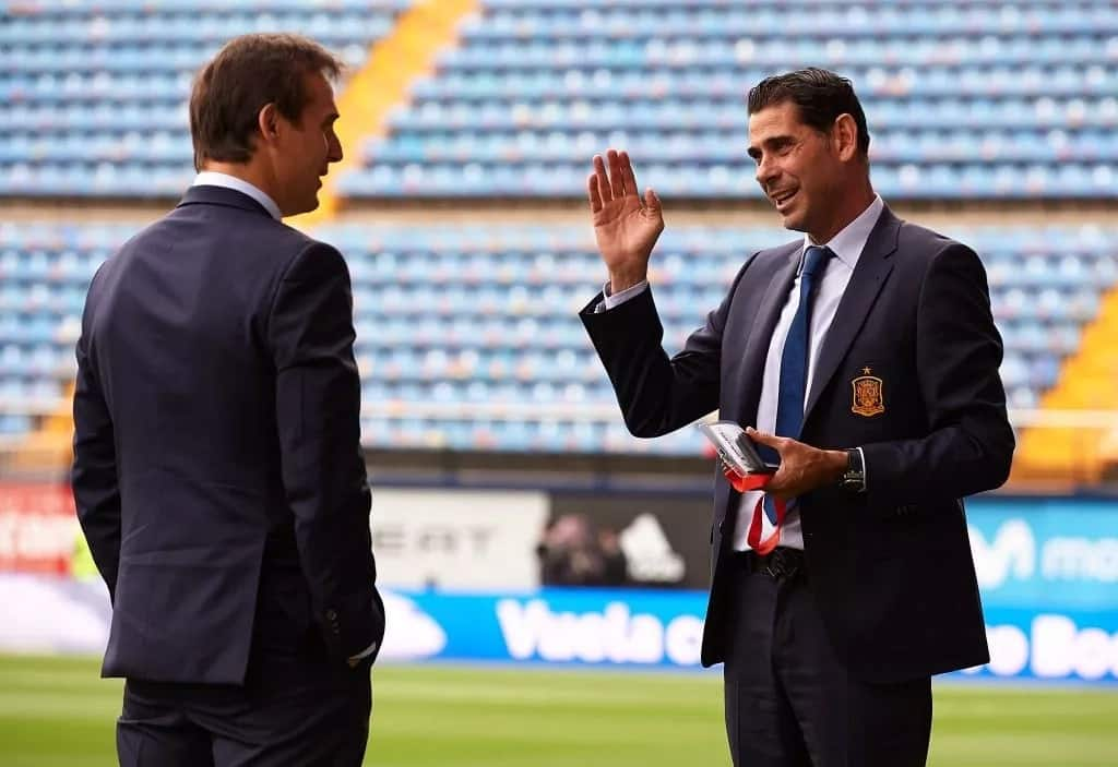 Spain announce Fernando Hierro as their new manager