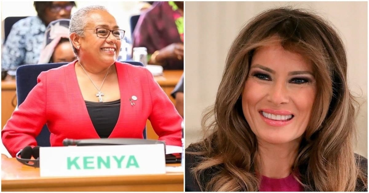 Kenya's and US First Ladies to participate in Uhuru-Trump talks