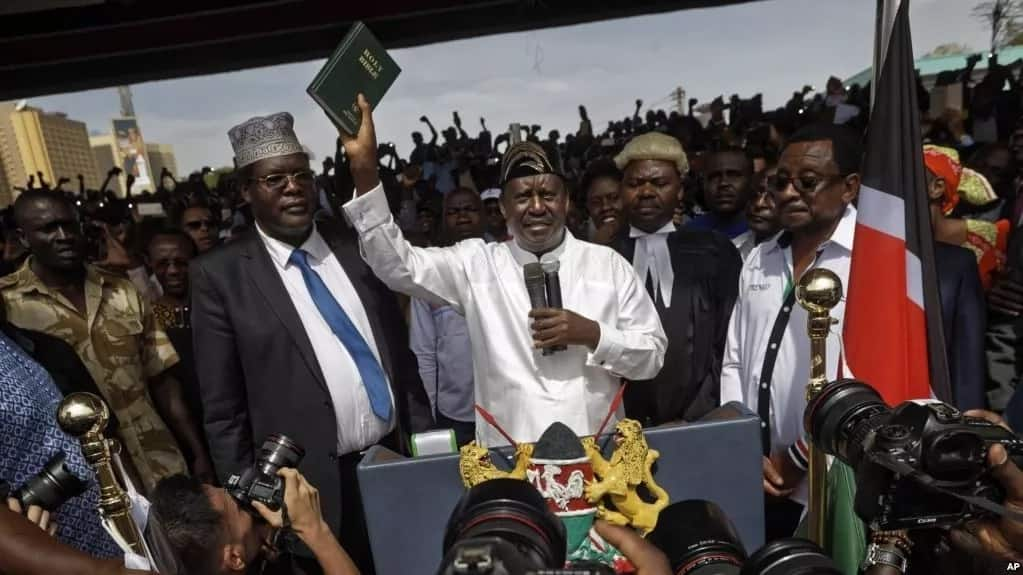 100 NASA-allied politicians who skipped Raila Odinga's controversial swearing-in