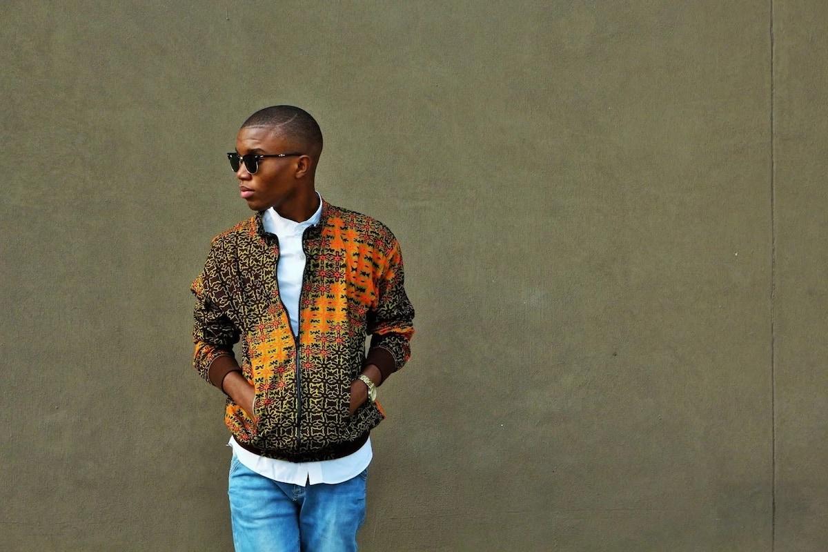 Latest Ankara jacket styles