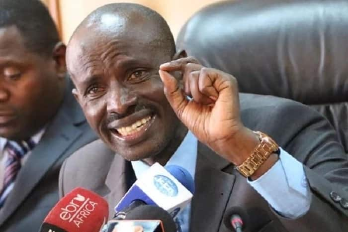 Nominated ODM MP Wilson Sossion vowed to stay put after he was sacked as KNUT's leader.