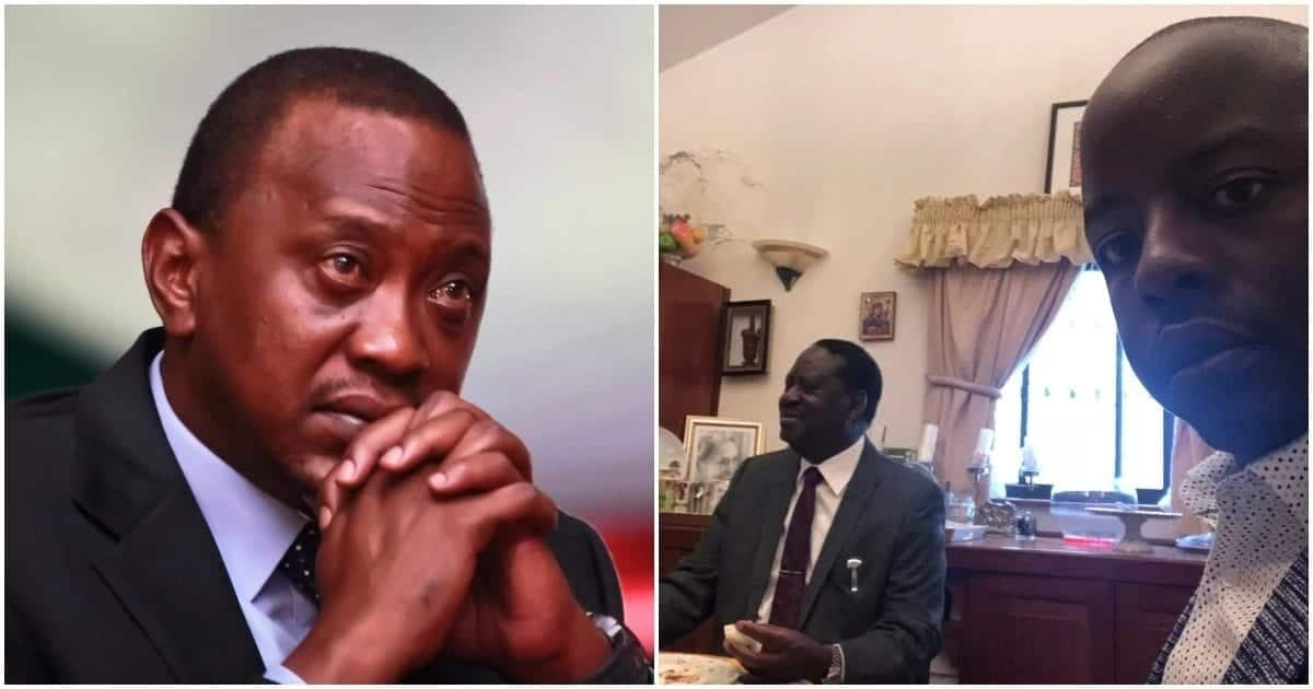 Raila Junior lectures father on 8% fuel tax, urges him to let MPs vote independently