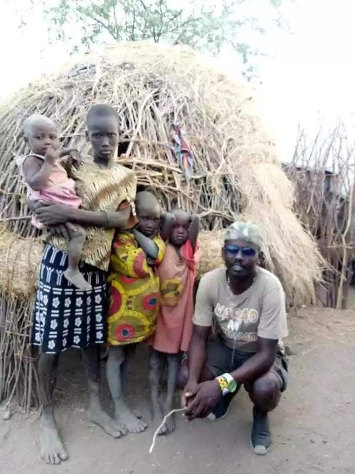 Police officer in passionate appeal to help 3 orphaned girls in Turkana