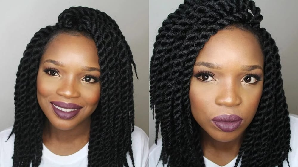 Latest Braids Weave Hairstyles