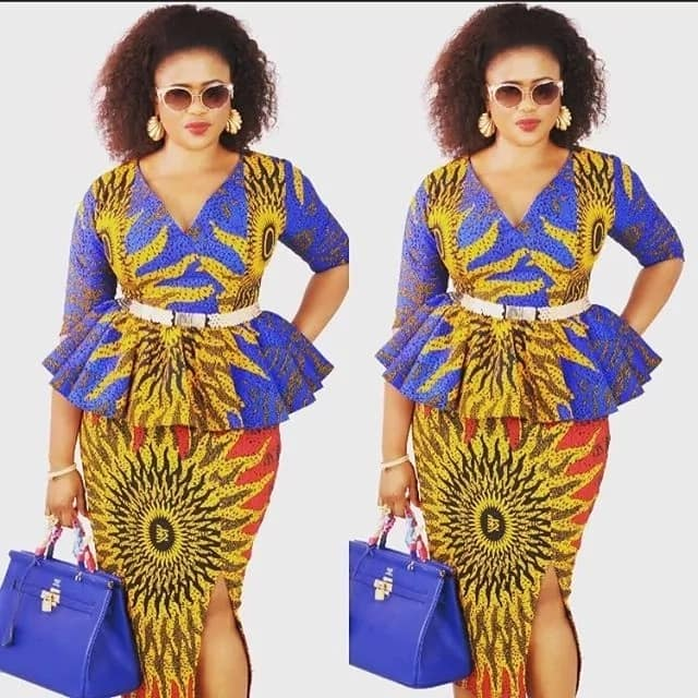 87844fb64b Latest Ankara styles  the best Ankara styles for ladies and men in ...