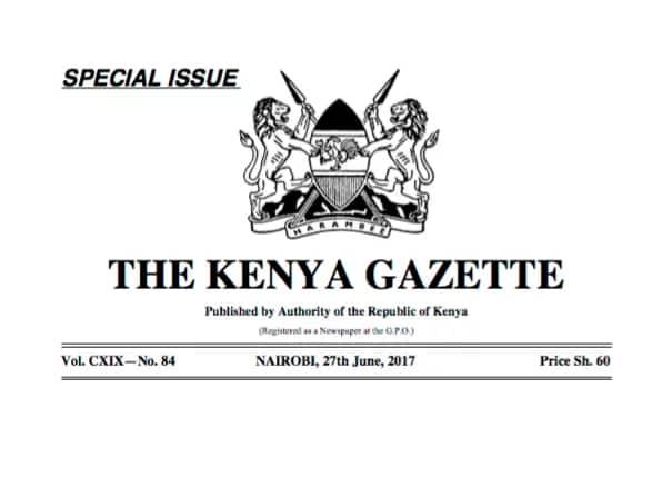 Orodha rasmi ya wagombea katika uchaguzi mkuu ujao imetolewa, hii hapa idadi kamili
