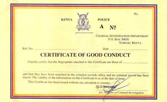 Mhudumu wa cyber Nairobi anaswa na wapelelezi akitengeneza vyeti feki vya good conduct