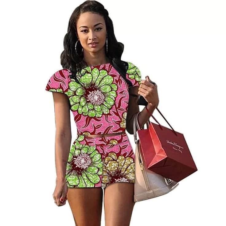Kitenge shorts designs
