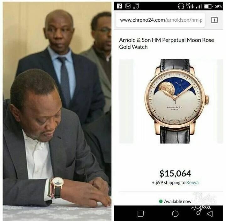 Mkono wa Rais Uhuru kila mara unabeba KSh. 1.5. Pata kufahamu ni kwa nini?