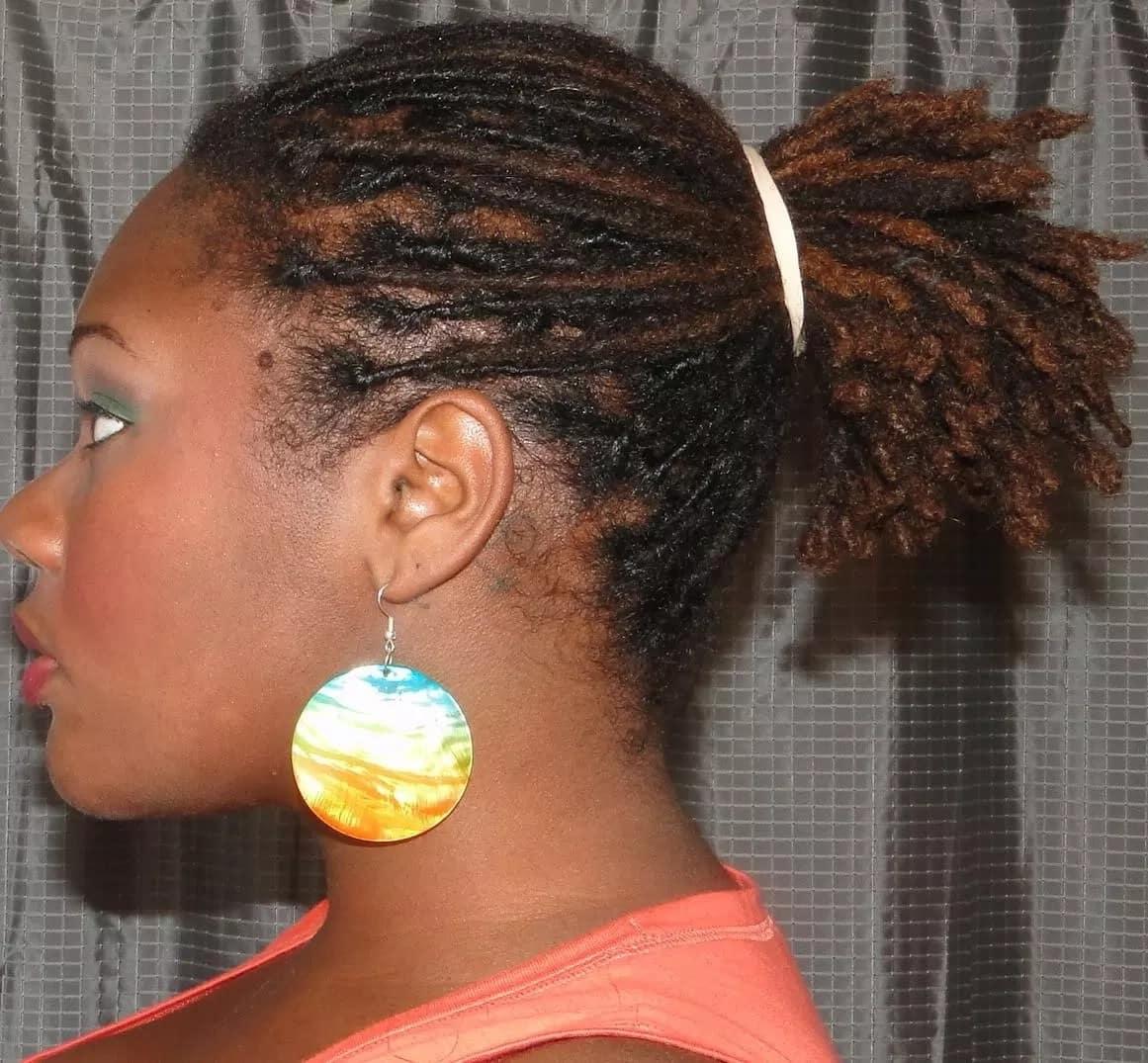 Latest dreadlocks hairstyles for ladies