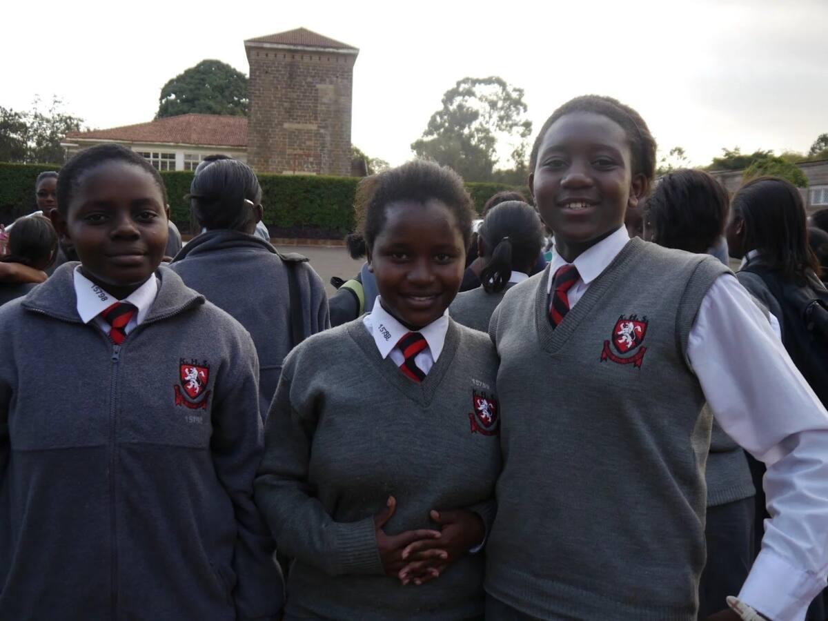 Kenya High School students