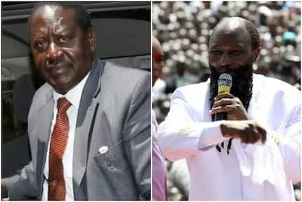 Raila Odinga turned away from Prophet David Owuor's prayer rally