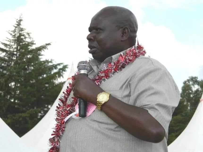Heavy security at the late MP's Eldoret home ahead of his funeral