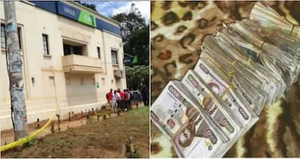 KSh 17 million recovered from the KSh 50 million KCB heist, details of 3 of the thieves emerge
