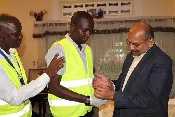 Asian businesses-man arrested trying to bribe Mike Sonko KSh 5 million