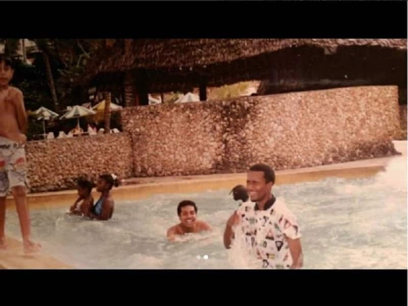 Mombasa governor Hassan Joho excites supporters with rare photo of himself as a teenager