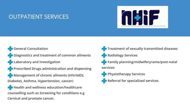 NHIF benefits for self-employed