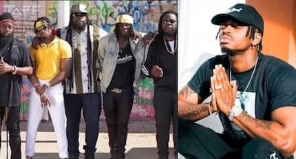 Legendary reggae group Morgan Heritage believes Diamond Platinumz is Africa's Micheal Jackson