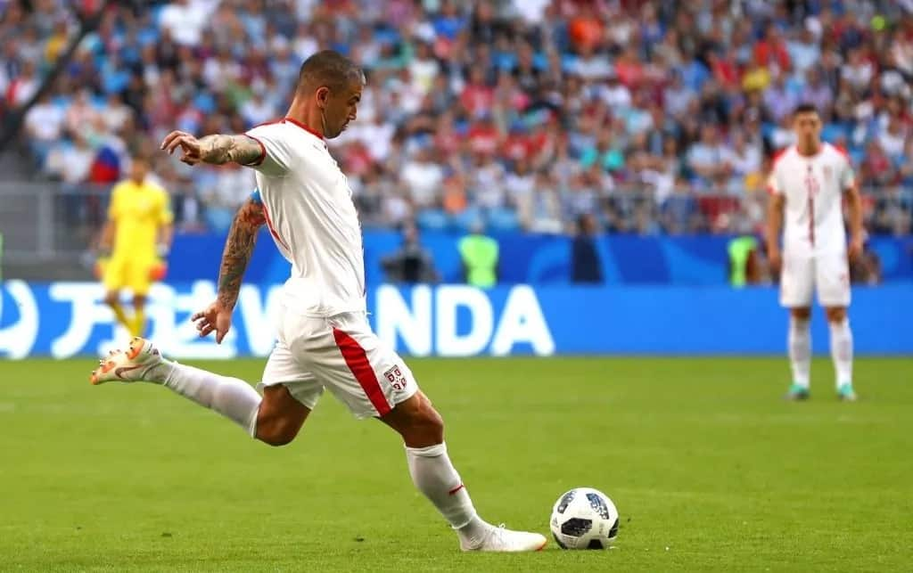 Kolarov on target as Serbia take-down Costa Rica 1-0 in their World Cup Group E opener