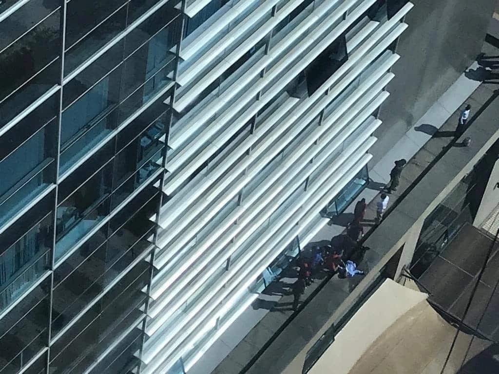 Audit firm manager booked office's 17th floor for work only to jump to his death