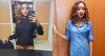 Riveting TV girl Joey Muthengi denies dating a governor