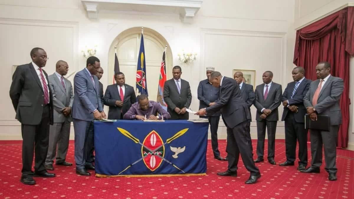 Uhuru sends all cabinet secretaries on Christmas leave amid looming Cabinet reshuffle