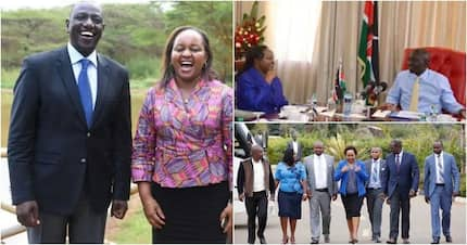 11 eye-catching times William Ruto, Anne Waiguru have displayed their political chemistry