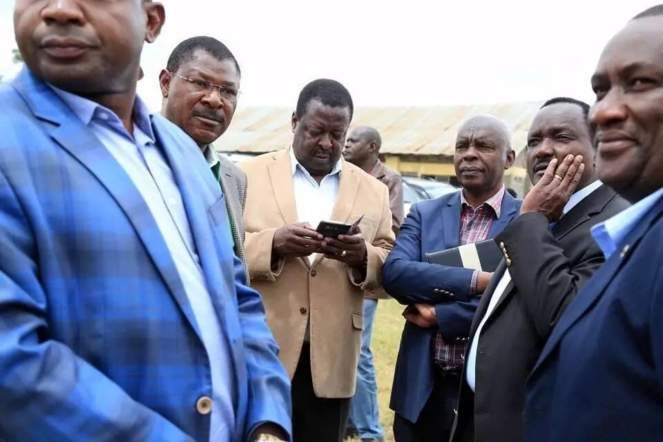 Raila, it's bad to talk while eating - Wetangula