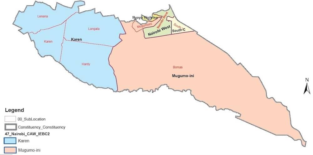 Nairobi county wards, wards in Nairobi county, Nairobi county wards
