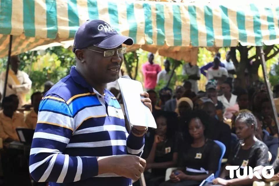 Governor Wangamati attends burial of woman killed in Dubai, promises to take action