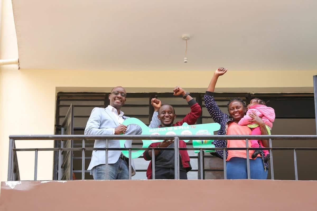 Small-scale farmer from Dagoreti wins Safaricom's M-PESA Tu KSh 7 million house