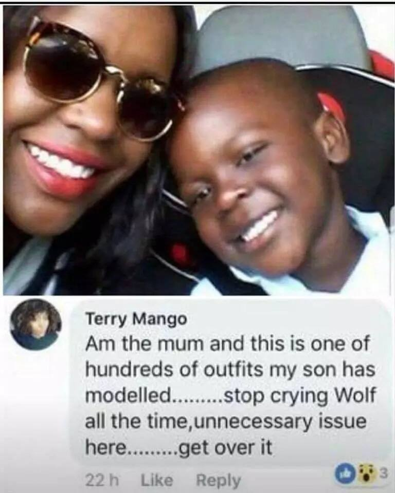 Kenyan mum in Europe blasted for letting son wear top labelled coolest Monkey in the Jungle