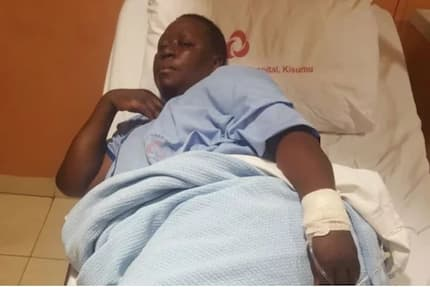 Ruth Odinga admitted to hospital