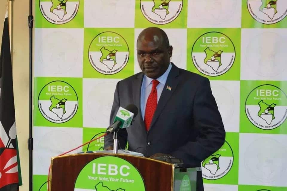 Chebukati on the spot over unending drama at IEBC's Anniversary Towers
