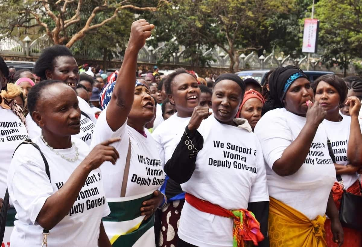 Wanawake waandamana Nairobi wakitaka gavana Sonko kuheshimu faragha yao