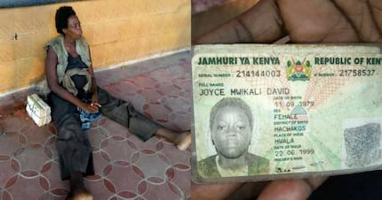 Do you know the family of this lady from Machakos stranded in the streets of Mombasa?
