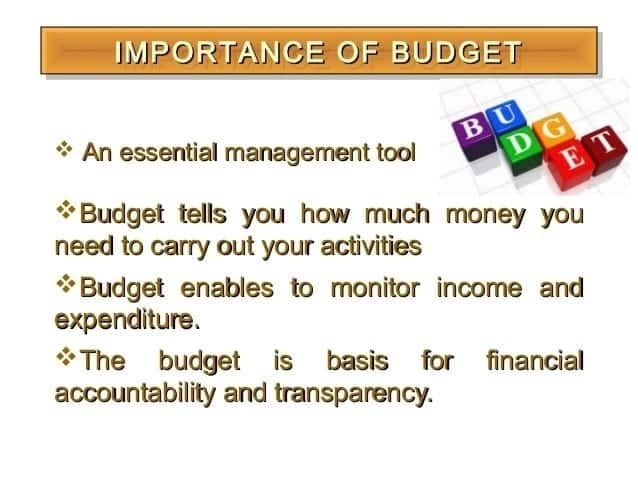 Why you need a budget Importance of budgeting in an organization Personal budgeting benefits
